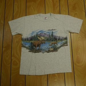 Vintage Montana Nature Shirt (1996) | Size Large